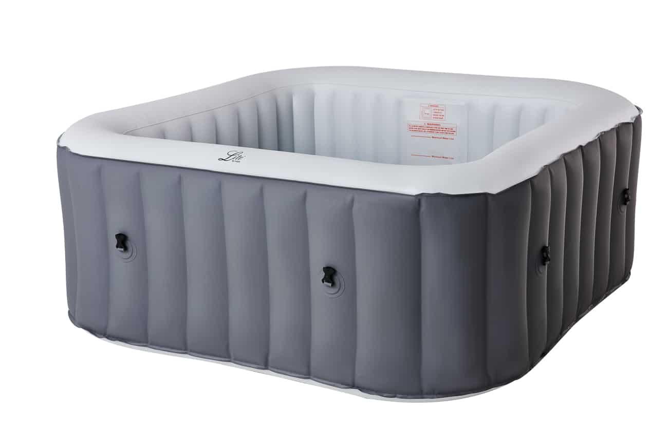 Mspa Lite Square grey hot tub