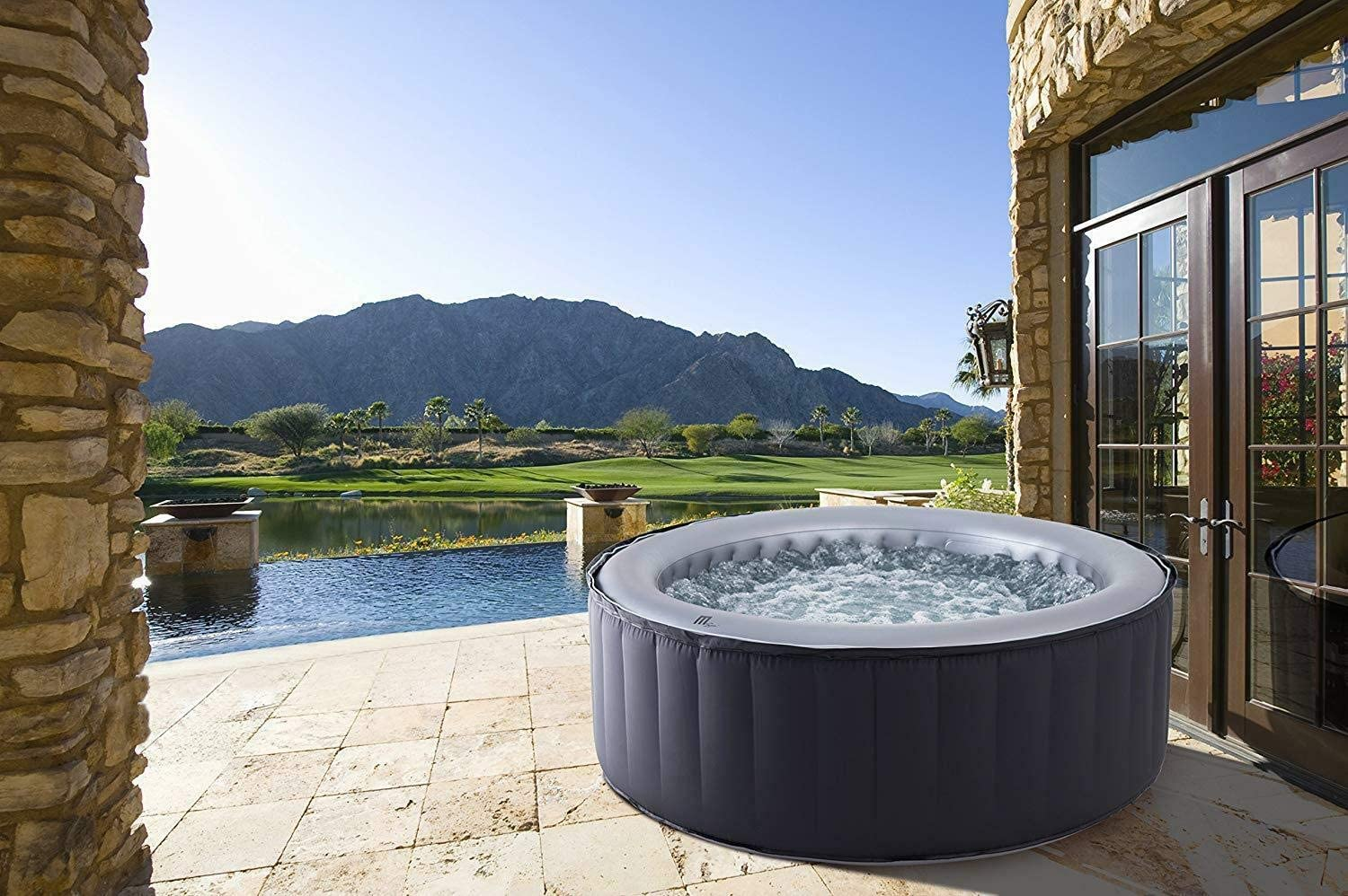 MSpa Silver Cloud Hot Tub for 4 people